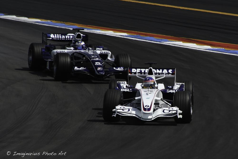 Villeneuve & Rosberg - Hockenheim 2006