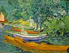 Vincent Willem van Gogh, Bank of the Oise at Auvers, 1890
