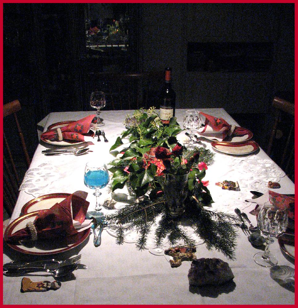 vincents weihnachtstischdeko foto bild gratulation und. Black Bedroom Furniture Sets. Home Design Ideas