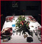 Vincents Weihnachtstischdeko