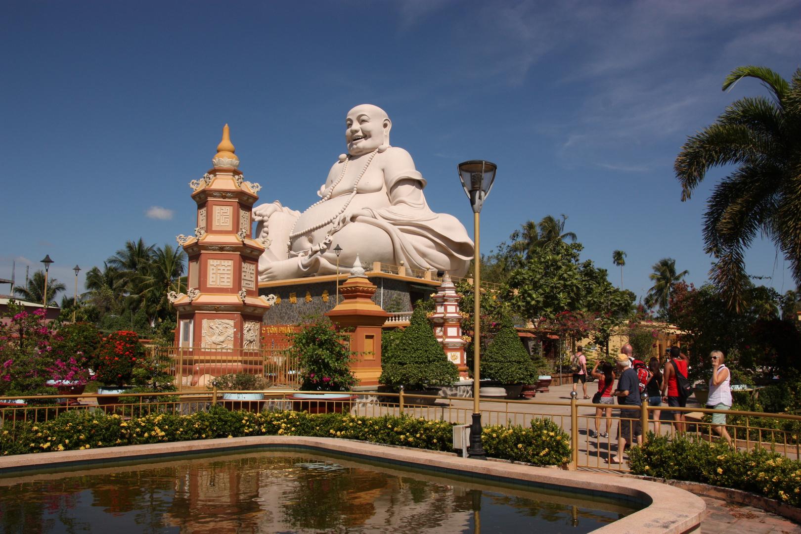 Vinh Trang Pagode in der Nähe von Saigon