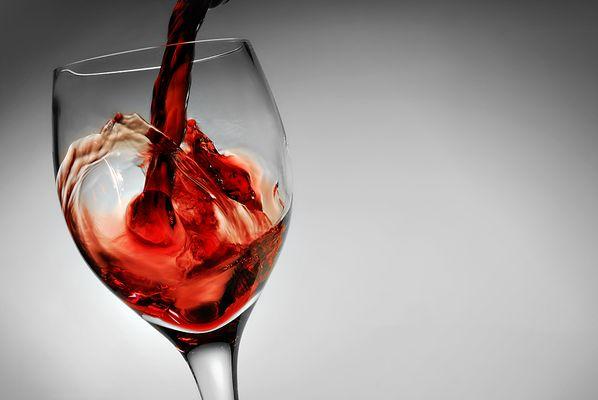 vino rosso ...