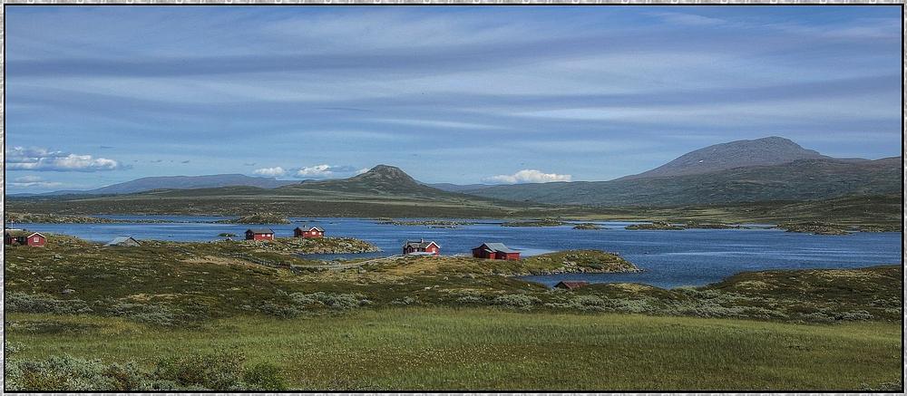 Vinstrivatnet : Norwegenreise 2013 ( HDR )