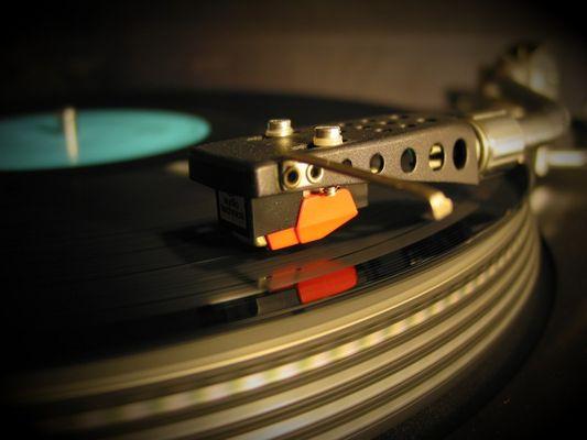 Vinyl, abgetastet - ein Hauch Nostalgie