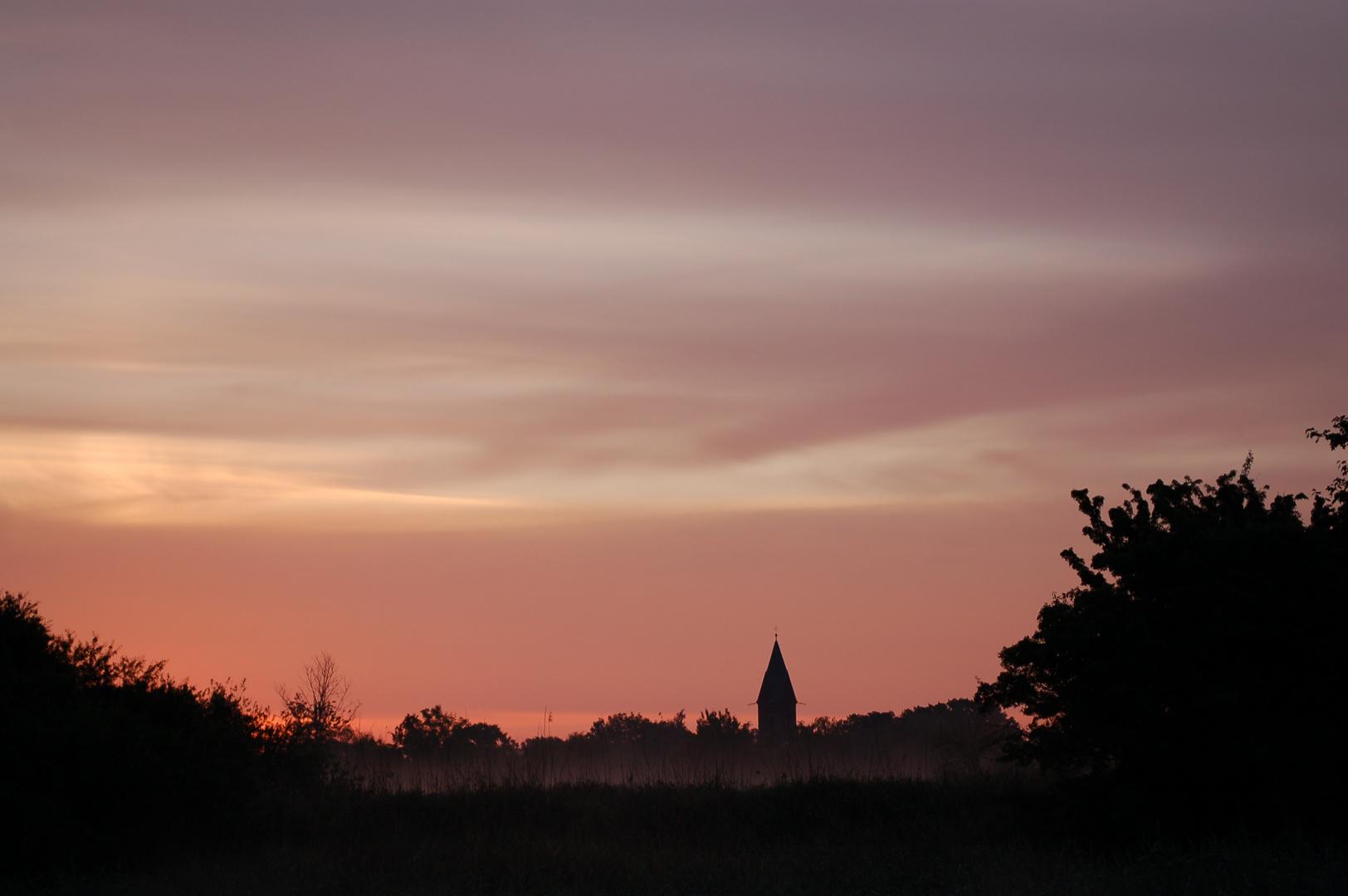 Violetter Morgen
