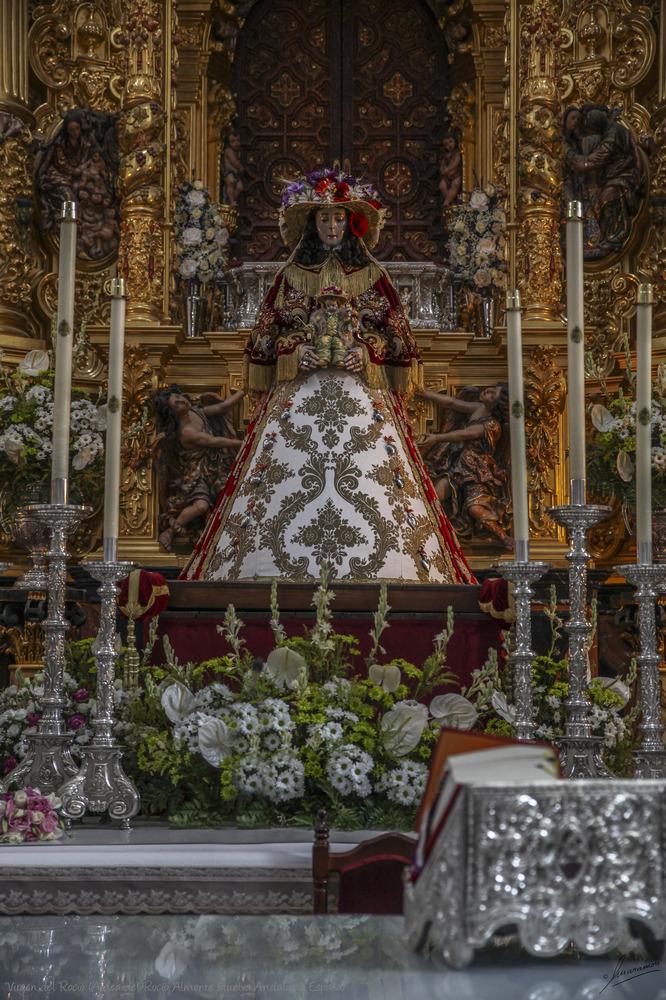 Virgen del Rocío (Aldea del Rocío Almonte Huelva Andalucía España)