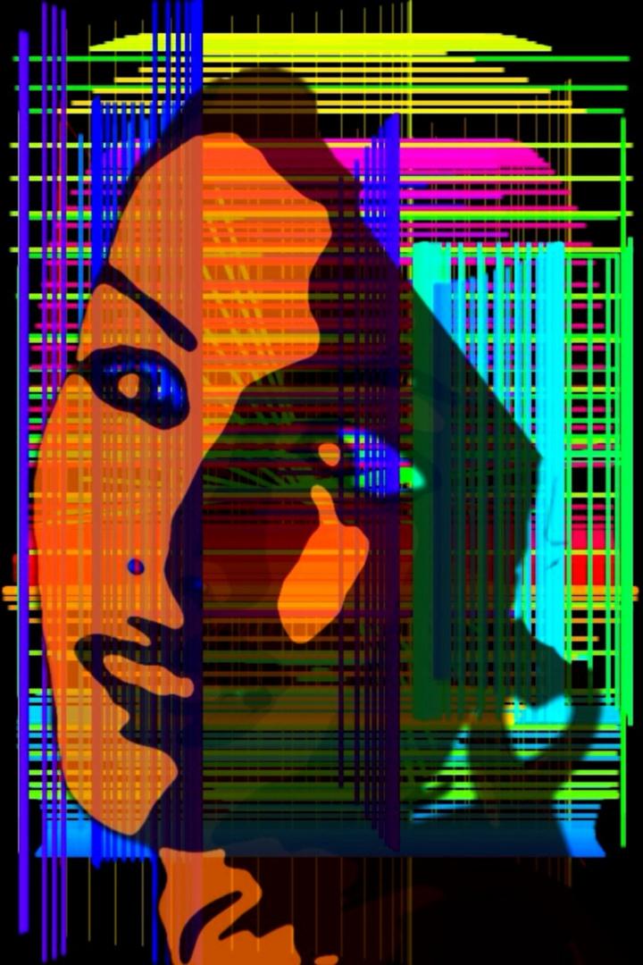 virtuelle Frau