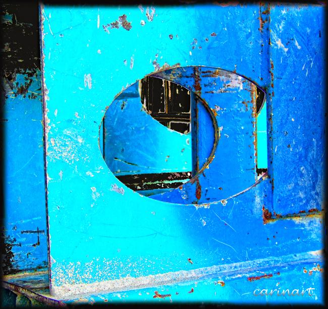 Vision bleue / Durchblick in Blau