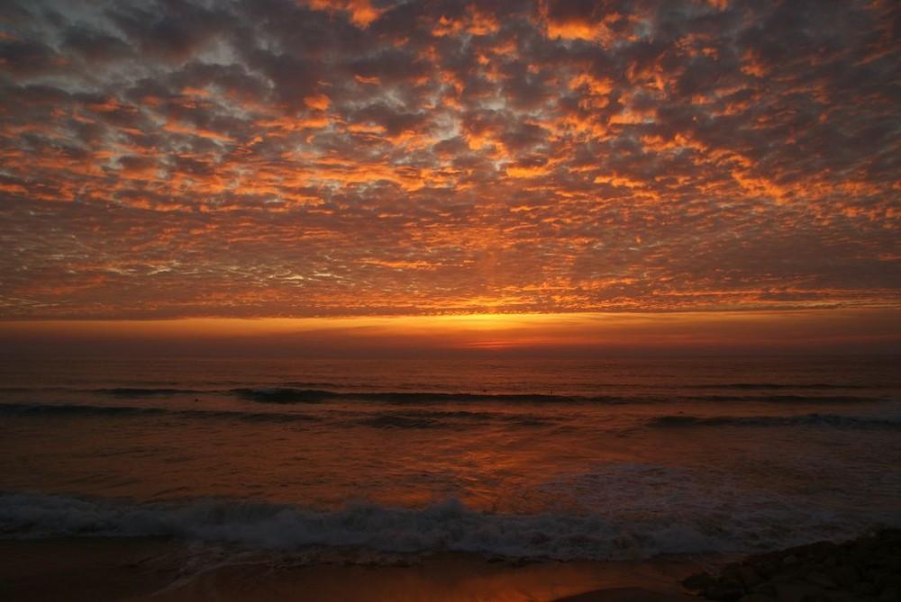 VISION ROUGE SUR LACANAU-OCEAN (ce mercredi soir)