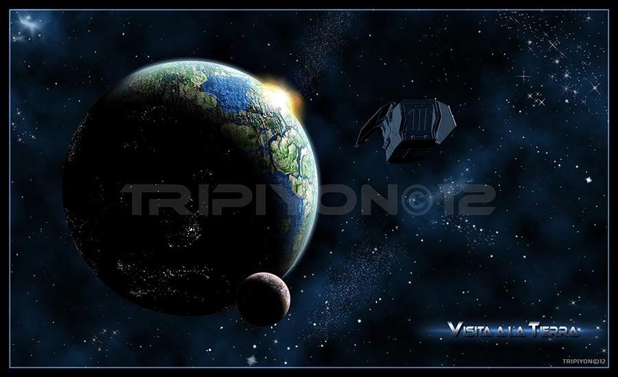Visita a la Tierra