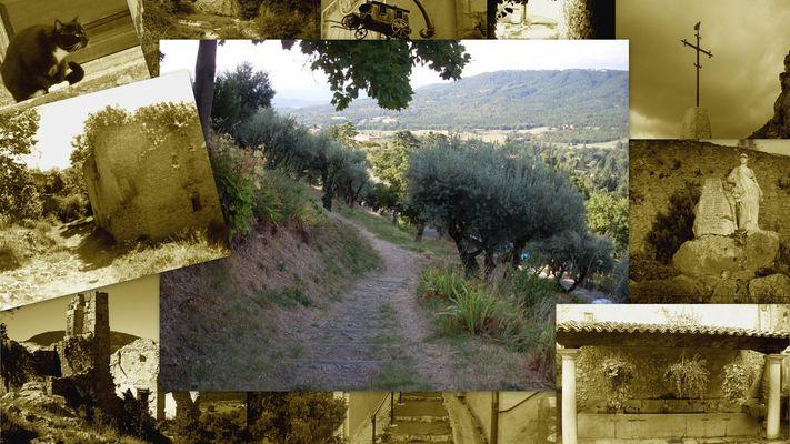 Visite a Moustiers Sainte Marie .