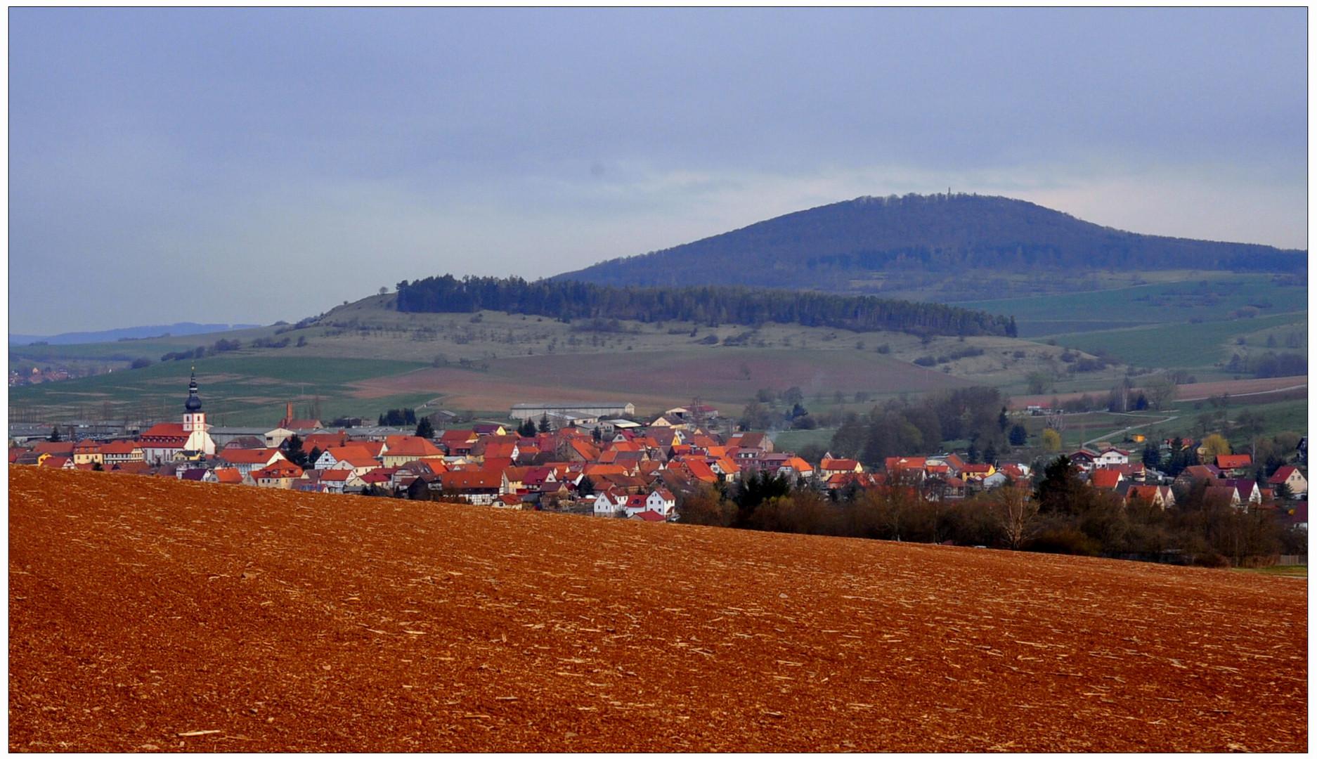 vista a mi pueblo por la mañana (Blick auf mein Dorf am Morgen)