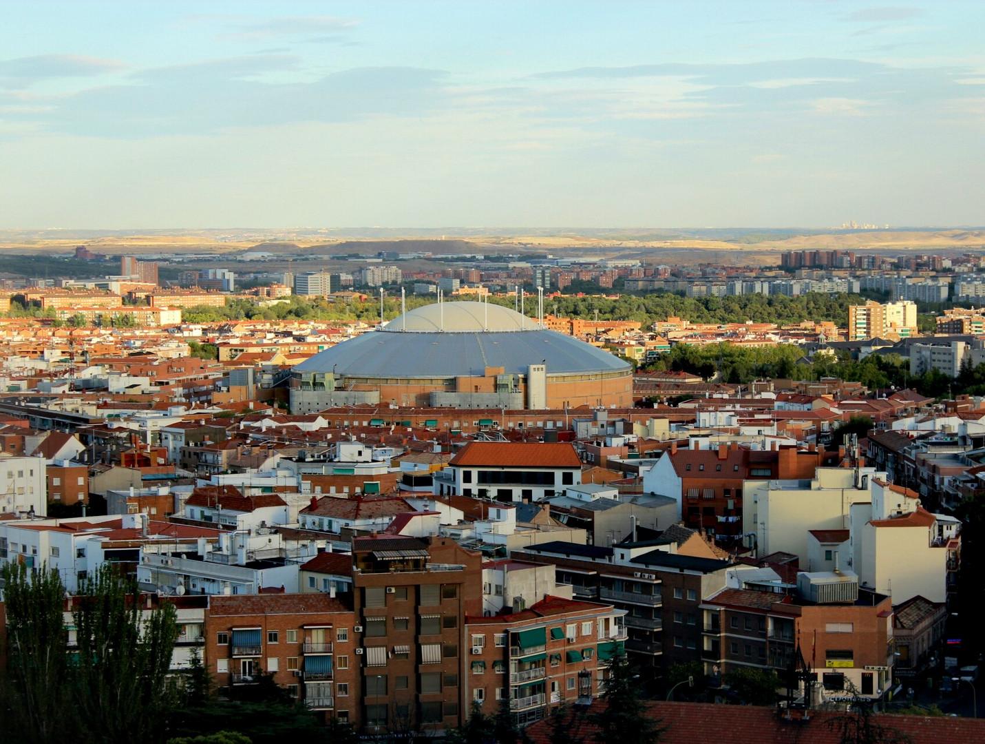 Vista Alegre. Bedeckte Stierkampfarena in Madrid