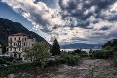 Vista da Castello (frazione di Castelveccana)
