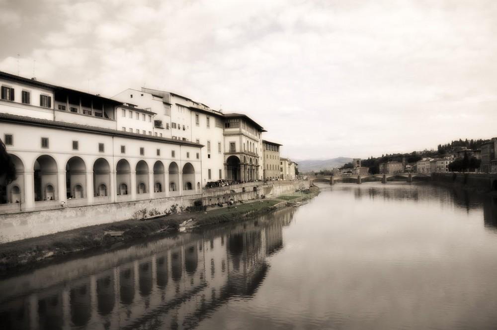 Vista da Ponte Vecchio