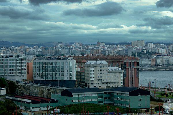 Vista de A Coruña (2)