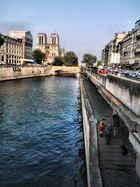 Vista de la Catedral de Notre Dame