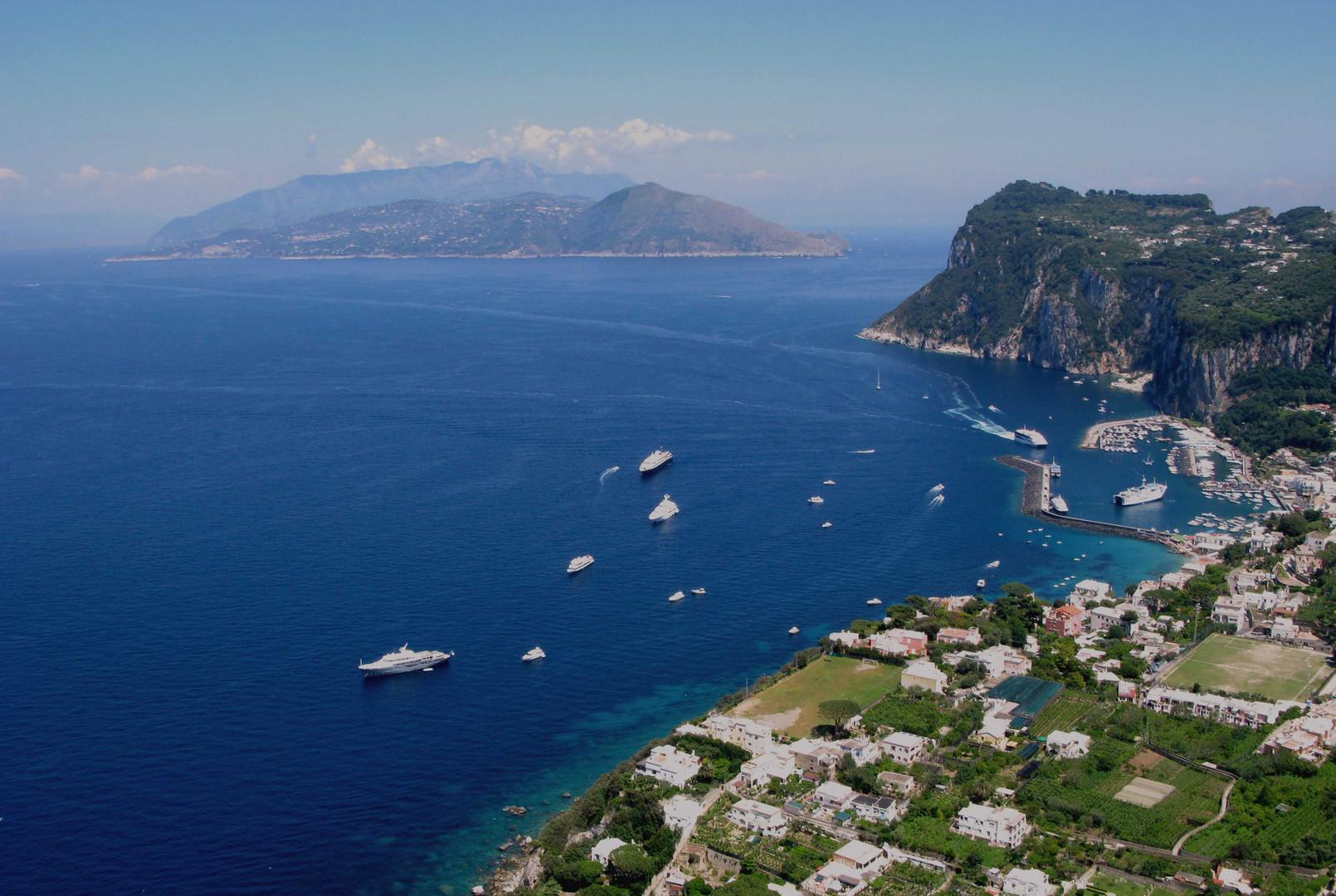 Vista desde Anacapri - Italia