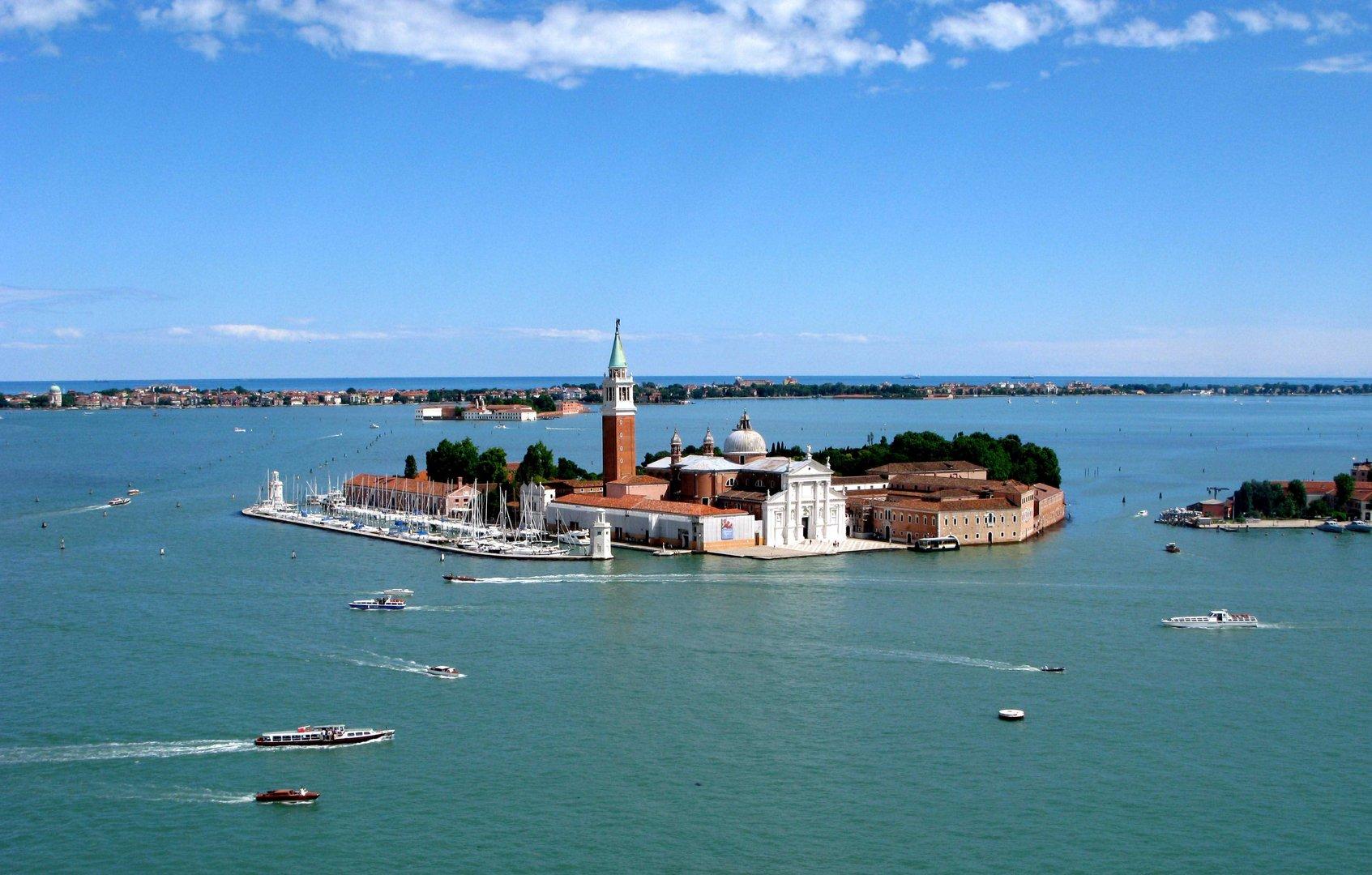 Vista desde el Campanile - Plaza San Marcos - Venecia