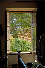 Vista desde el dormitorio (Blick aus dem Schlafzimmer)