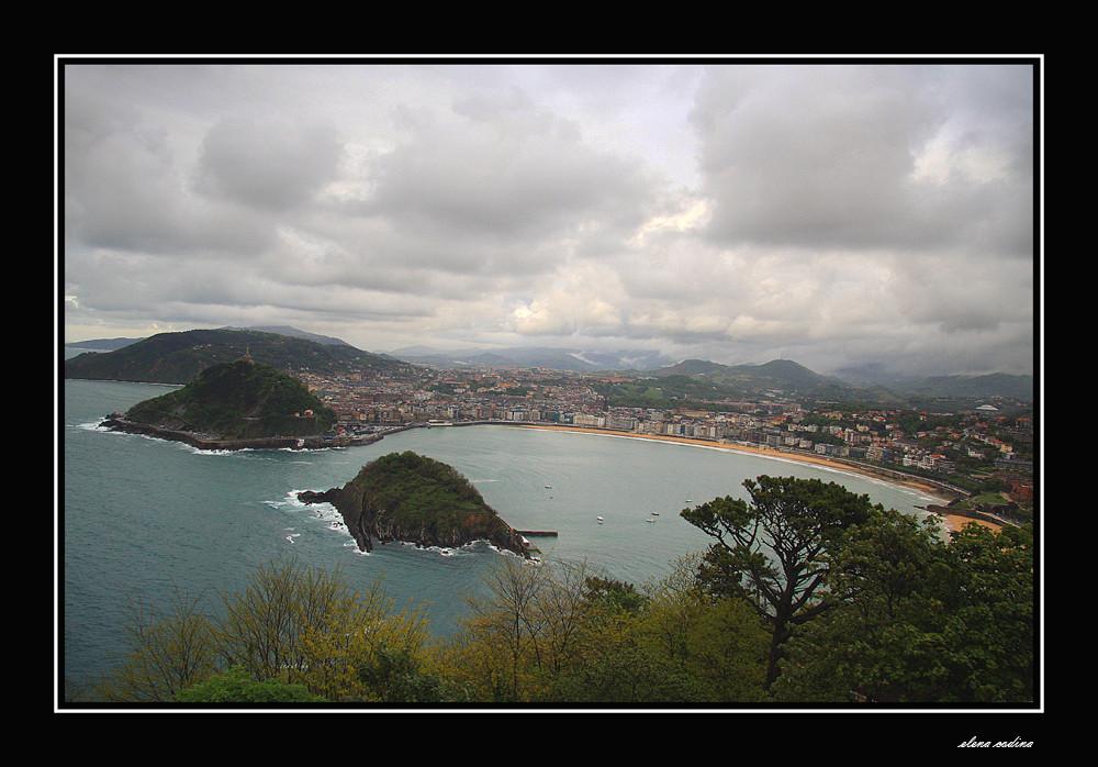 Vista desde Igueldo-Donostia