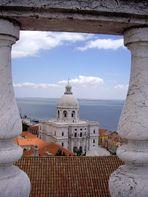 Vista do Panteão Nacional desde São Vicente de Fora
