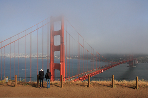 Vista Point @ Golden Gate