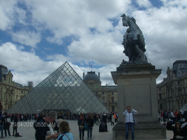 Viste del Museo de Louvre