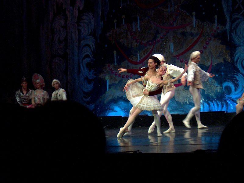 """Visualierung eines """"Momentes"""" während eines Ballettauftrittes"""
