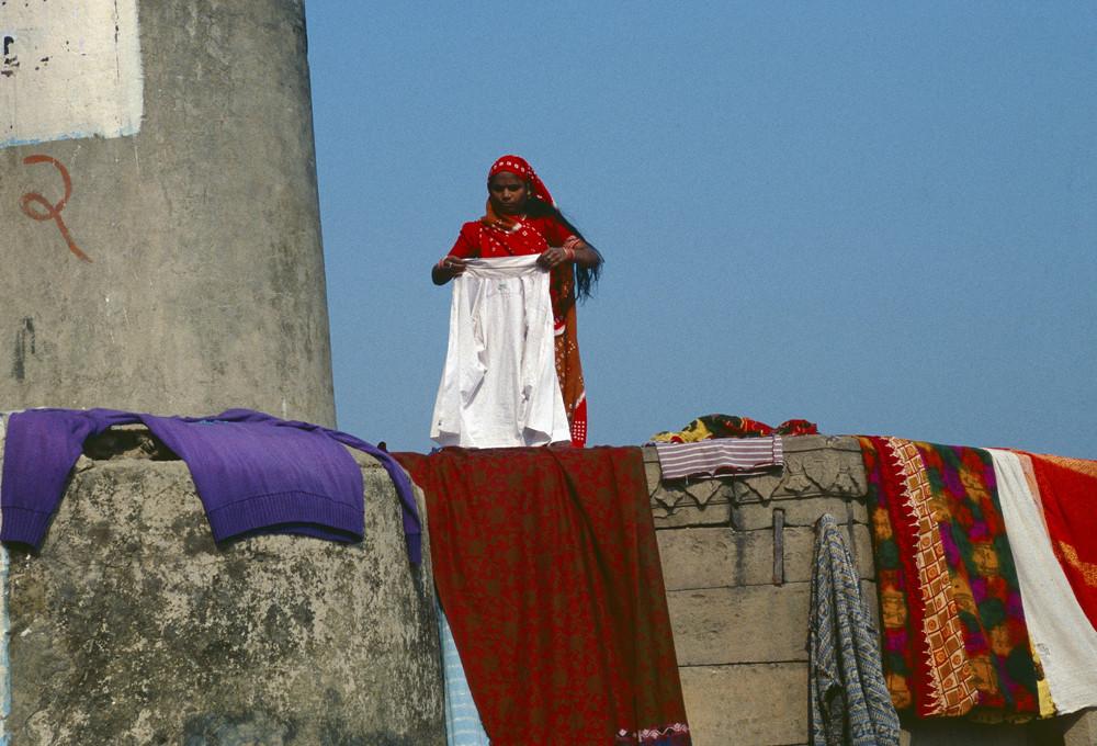 Vita sui Ghat di Varanasi