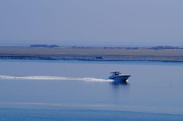 Vitesse - Calme plat - île aux oiseaux - Bassin d'Arcachon
