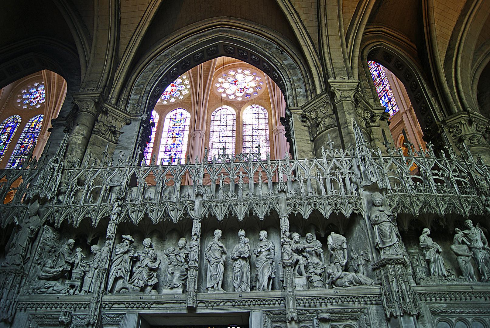 Vitraux, cathédrale Notre Dame de Chartres