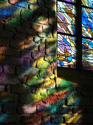 Vitraux de l´ Eglise Saint Ronan, Locronan