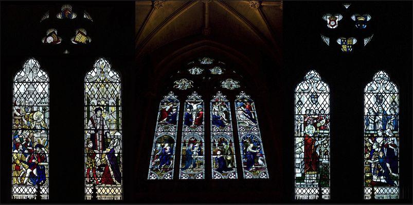 Vitraux de l'Eglise Notre-Dame des Martyrs Anglais
