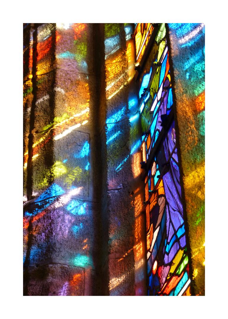 Vitraux, Eglise Saint Ronan