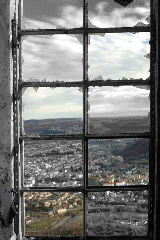 vitres brisées