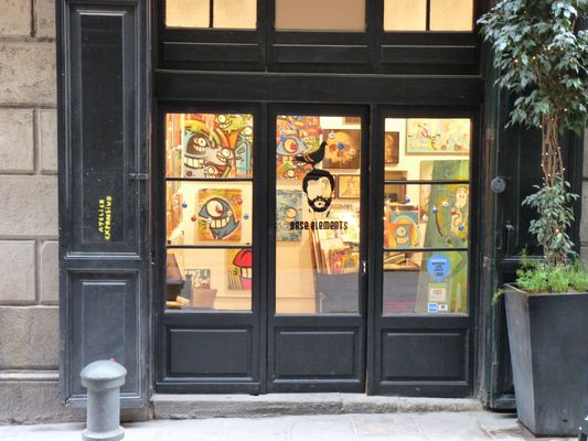 "vitrine d'artiste ""arte"""