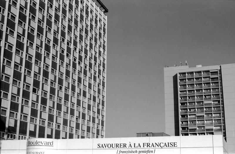 Vive la France auf Dresdner Art