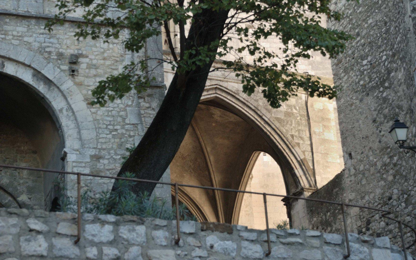 Viviers en Ardèche, résidence des évêques
