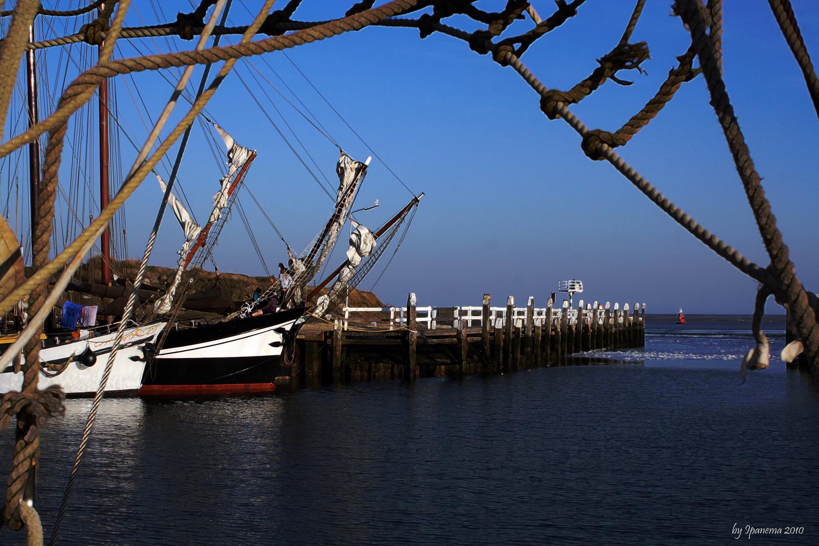 Vlieland, Hafenstimmung