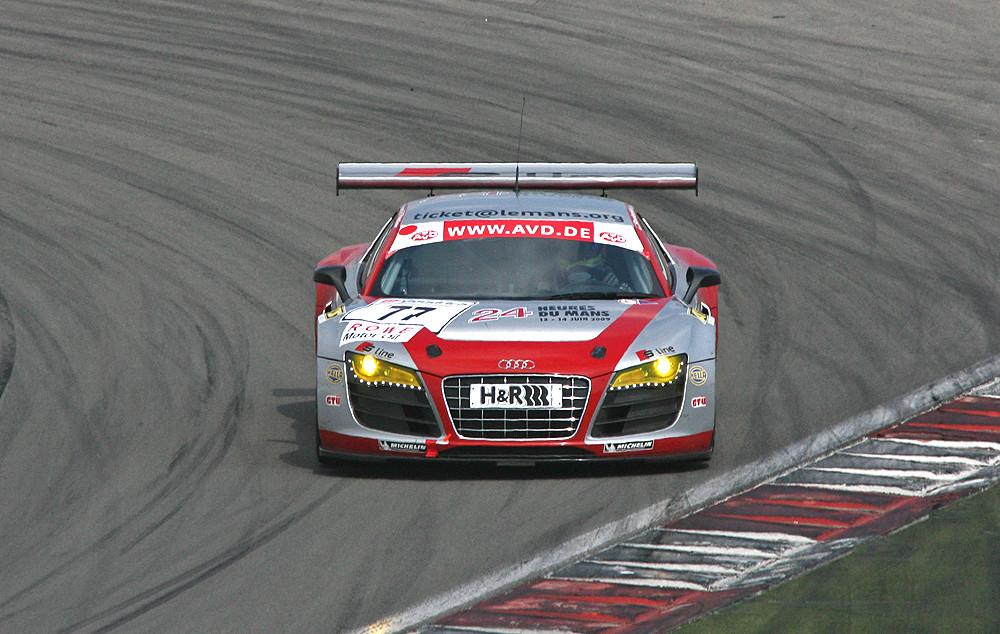 VLN-05.02.09, und wieder der Audi