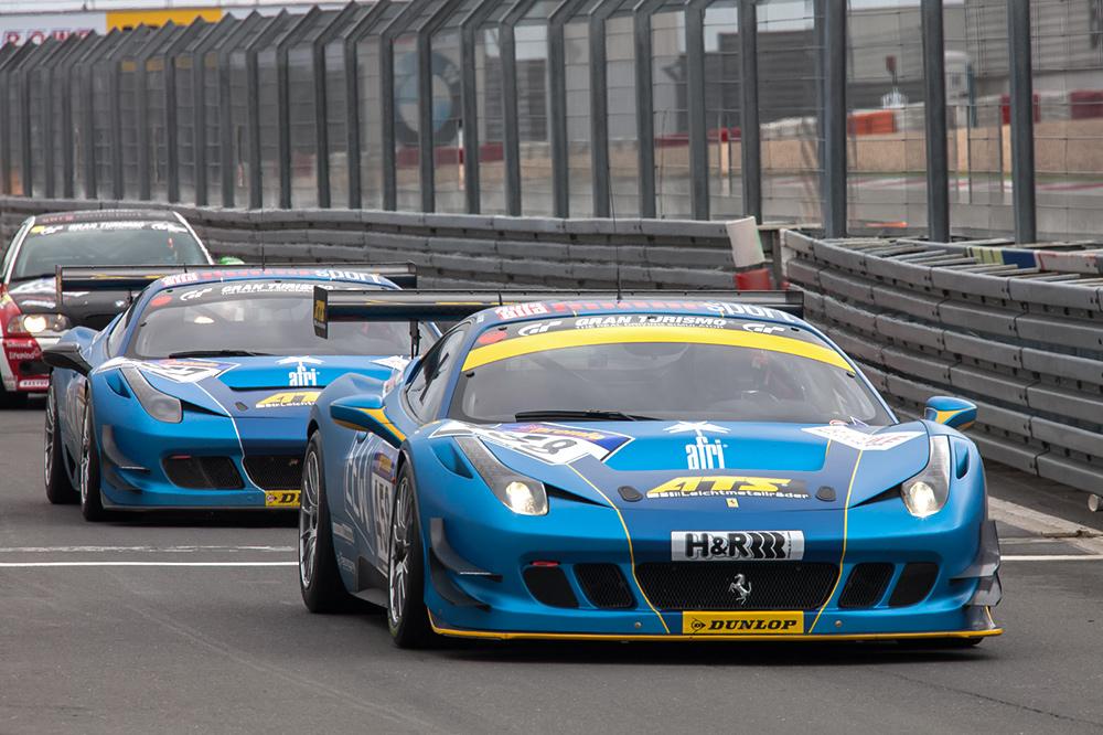 VLN-13.04.13, 2 Ferrari F458