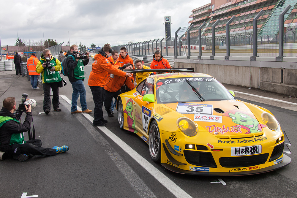 VLN-13.04.13, Porsche von Timbuli Racing