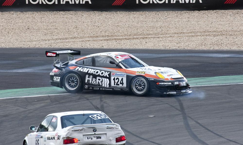 VLN-17.10.09, Nr.: 124, Porsche-997 GT3-