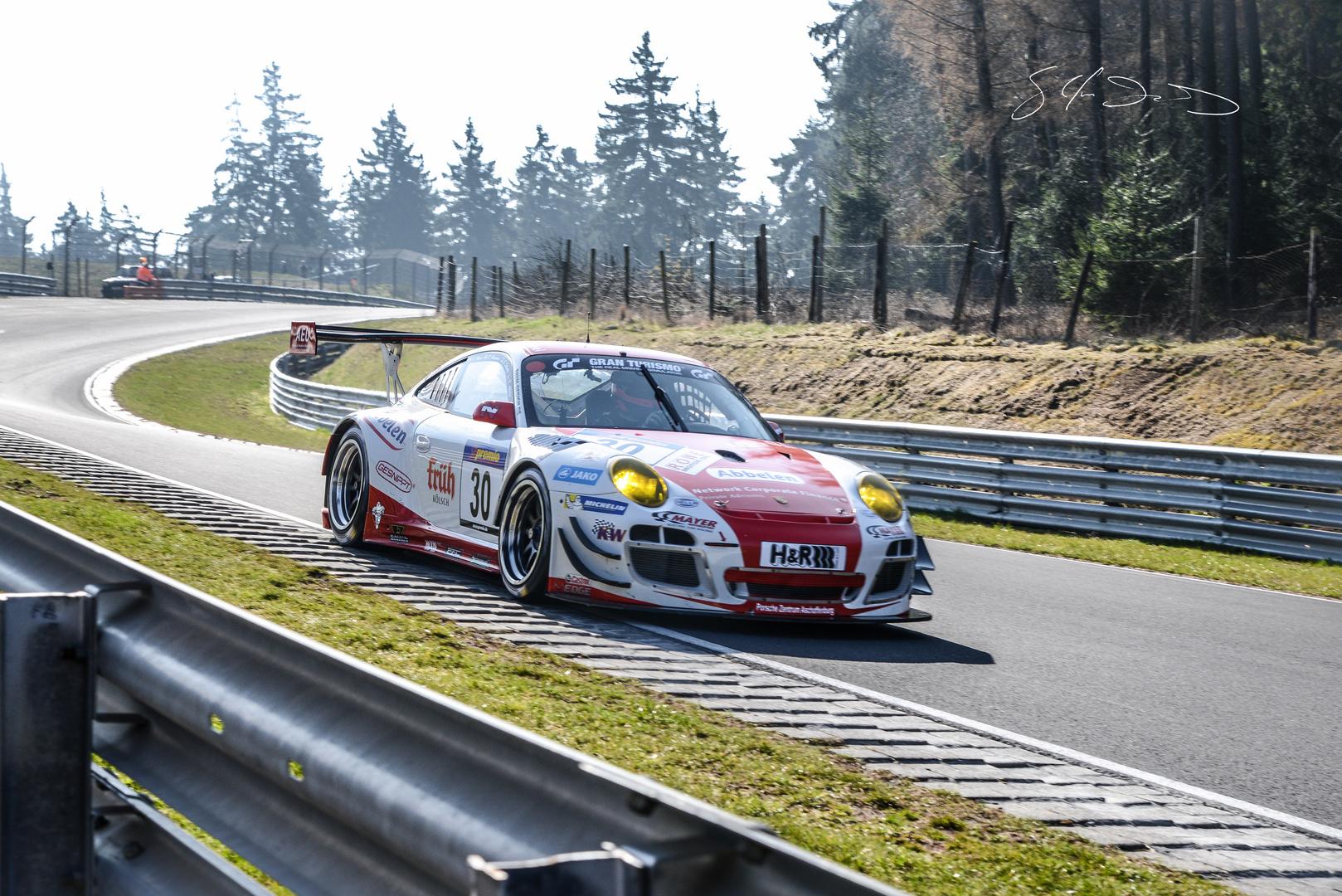 VLN 29.03.2014 Porsche GT3