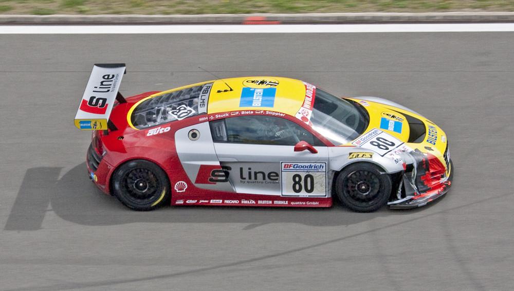 VLN-29.08.09, Nr.: 80, Audi R8 LMS