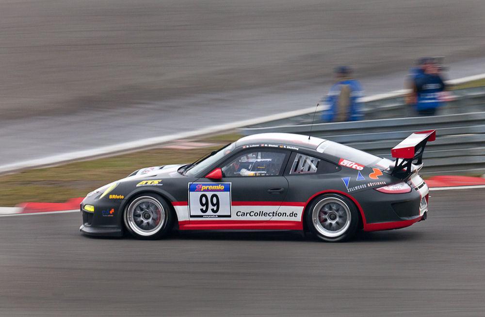 VLN, 31.03.12, Porsche von der T4 aus