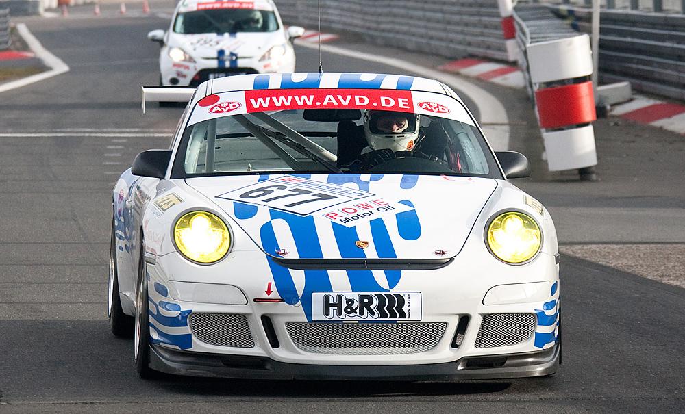 VLN-31.10.09, Nr.:677, Porsche GT3