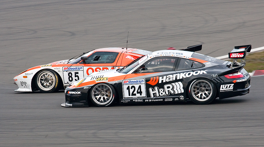 VLN-31.10.09, Porsche / Ford