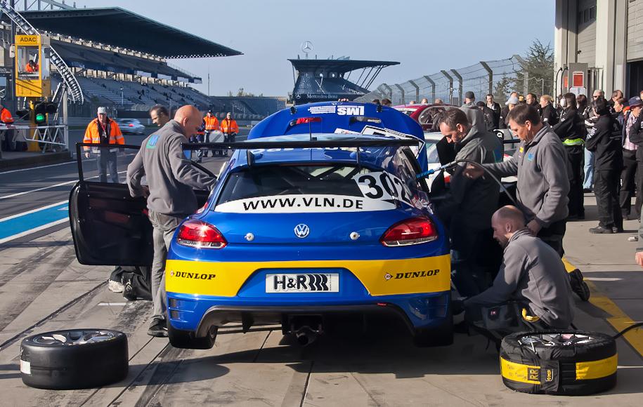 VLN, Archiv 2011, Boxenstop VW